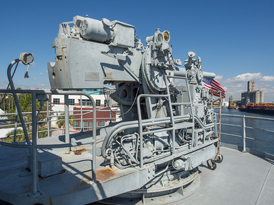 5 Inch naval gun on the Victory Ship American Victory